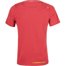 La Sportiva Square T-Shirt Men Cardinal Red